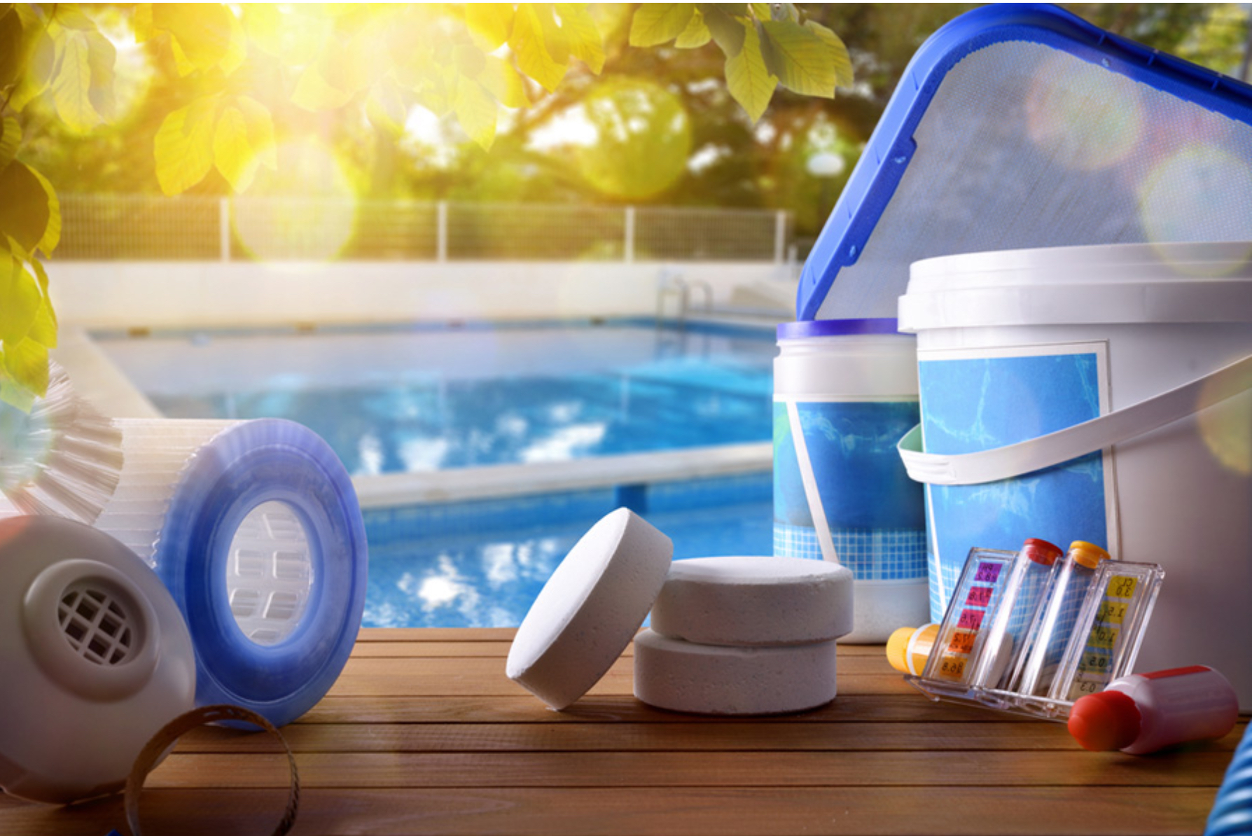 How to Balance Your Pool Water Chemicals