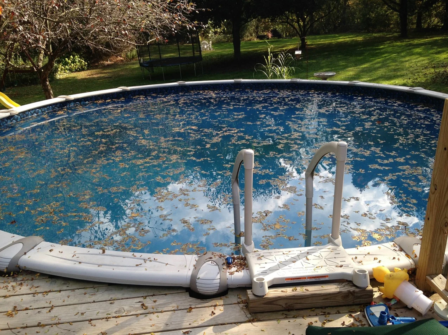 What Causes A Dirty Pool